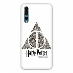 Coque Samsung Galaxy Note 10 WB License harry potter pattern triangle Blanc