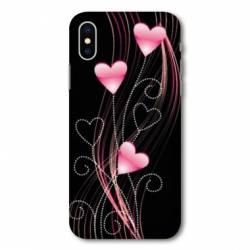 Coque Samsung Galaxy A10 Cœur rose Montant