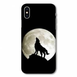 Coque Samsung Galaxy A10 Loup Noir