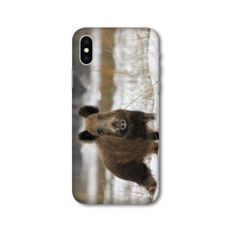Coque Samsung Galaxy A10 chasse sanglier Neige