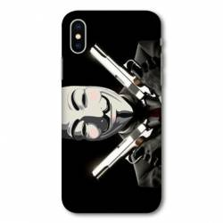 Coque Samsung Galaxy A10 Anonymous Gun