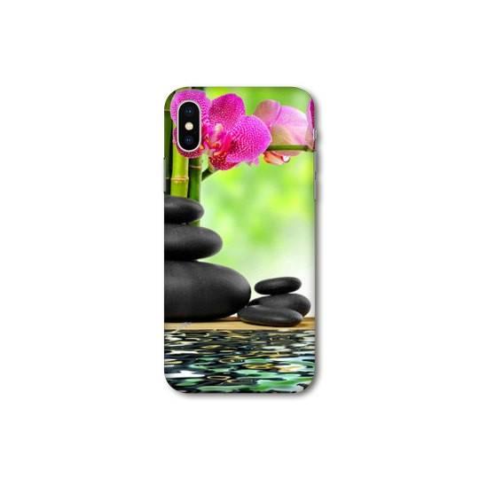 Coque Samsung Galaxy A10 orchidee eau