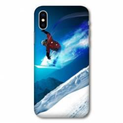 Coque Samsung Galaxy A10 Snowboard saut