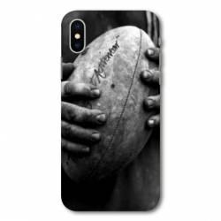 Coque Samsung Galaxy A10 Rugby ballon vintage