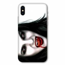 Coque Samsung Galaxy A10 Vampire blanc