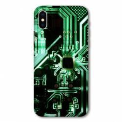 Coque Samsung Galaxy A10 Trompe œil composant