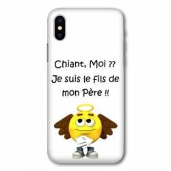 Coque Samsung Galaxy A10 Humour Moi chiant
