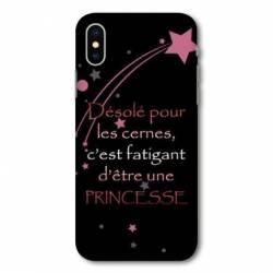 Coque Samsung Galaxy A10 Humour princesse