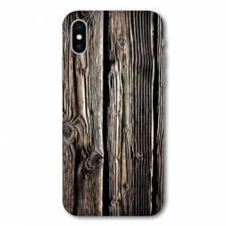 Coque Samsung Galaxy A10 Texture bois