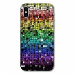 Coque Samsung Galaxy A10 Texture mosaique