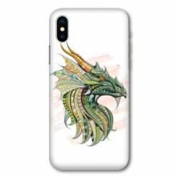 Coque Samsung Galaxy A10 Ethniques Dragon Color