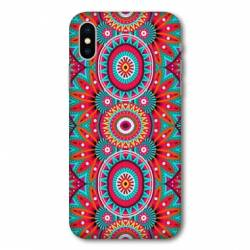 Coque Samsung Galaxy A10 Etnic abstrait Pic rouge