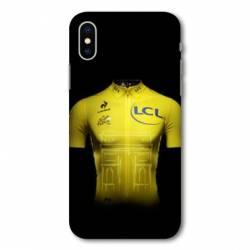 Coque Samsung Galaxy A10 Cyclisme Maillot jaune