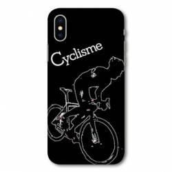 Coque Samsung Galaxy A10 Cyclisme Ombre blanche