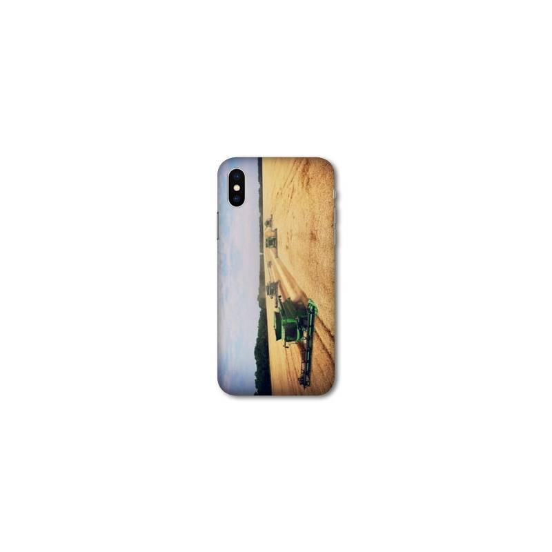 Coque Samsung Galaxy A10 Agriculture Moissonneuse