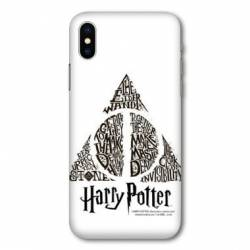 Coque Samsung Galaxy A10 WB License harry potter pattern triangle Blanc