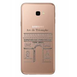 Coque transparente Samsung Galaxy J4 Plus - J415 Arc triomphe