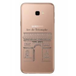 Coque transparente Samsung Galaxy J4 Plus - J415 Arc triomphe