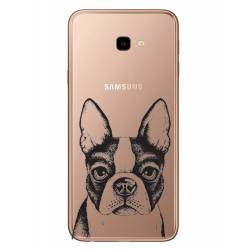 Coque transparente Samsung Galaxy J4 Plus - J415 Bull dog