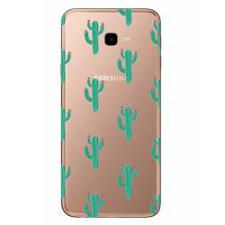 Coque transparente Samsung Galaxy J4 Plus - J415 Cactus