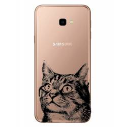 Coque transparente Samsung Galaxy J4 Plus - J415 Chaton