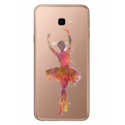 Coque transparente Samsung Galaxy J4 Plus - J415 Danseuse etoile