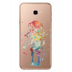 Coque transparente Samsung Galaxy J4 Plus - J415 Dobby colore