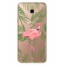 Coque transparente Samsung Galaxy J4 Plus - J415 Flamant Rose