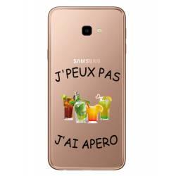 Coque transparente Samsung Galaxy J4 Plus - J415 jpeux pas jai apero