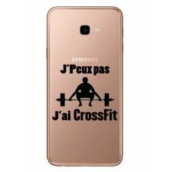 Coque transparente Samsung Galaxy J4 Plus - J415 jpeux pas jai crossfit