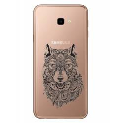 Coque transparente Samsung Galaxy J4 Plus - J415 loup
