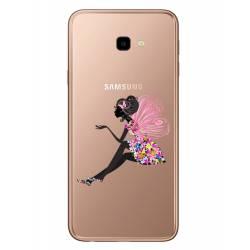 Coque transparente Samsung Galaxy J4 Plus - J415 magique fee fleurie