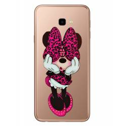 Coque transparente Samsung Galaxy J4 Plus - J415 noeud papillon