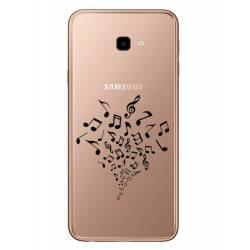 Coque transparente Samsung Galaxy J4 Plus - J415 note musique