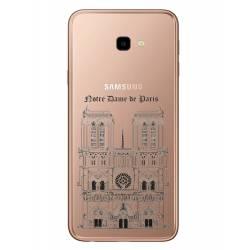 Coque transparente Samsung Galaxy J4 Plus - J415 Notre Dame Paris