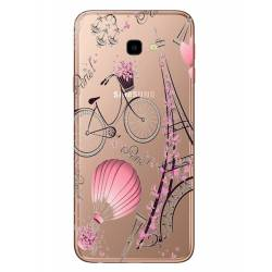 Coque transparente Samsung Galaxy J4 Plus - J415 Paris mongolfiere