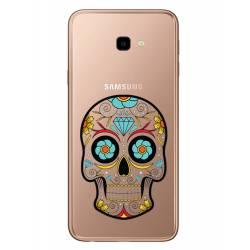 Coque transparente Samsung Galaxy J4 Plus - J415 tete mort