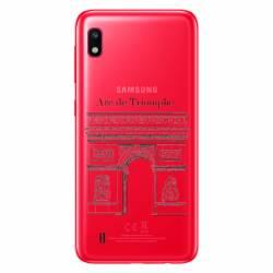 Coque transparente Samsung Galaxy A10 Arc triomphe