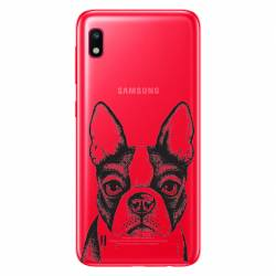 Coque transparente Samsung Galaxy A10 Bull dog