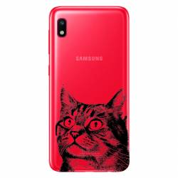 Coque transparente Samsung Galaxy A10 Chaton