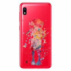 Coque transparente Samsung Galaxy A10 Dobby colore