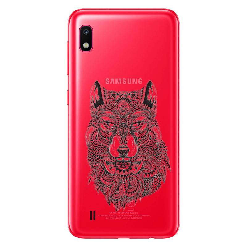 coque samsung a10 2019 loup