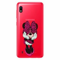 Coque transparente Samsung Galaxy A10 noeud papillon