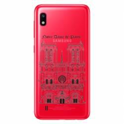 Coque transparente Samsung Galaxy A10 Notre Dame Paris