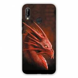 Coque Huawei Honor 8A Dragon Rouge