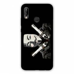 Coque Huawei Honor 8A Anonymous Gun