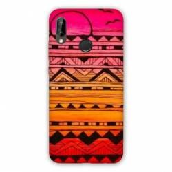 Coque Huawei Honor 8A motifs Aztec azteque soleil