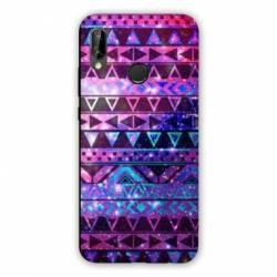 Coque Huawei Honor 8A motifs Aztec azteque violet