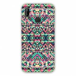 Coque Huawei Honor 8A motifs Aztec azteque rose