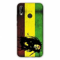 Coque Huawei Honor 8A Bob Marley Drapeau